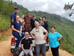 Dr. George Bazaco with team in Dominican Republic