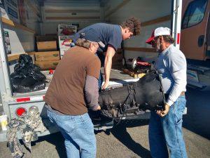 Helped repair Rock Lick Food Pantry truck